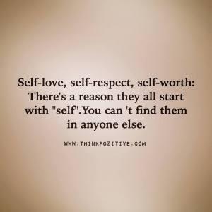 Self-love-Self-respect-Self-worth